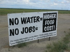 no water no jobs