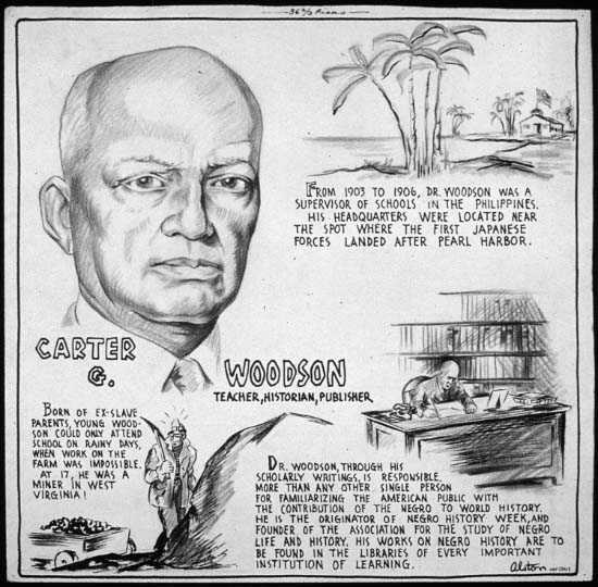 """Carter G. Woodson. Teacher, Historian, Publisher"" by Charles Henry Alston"