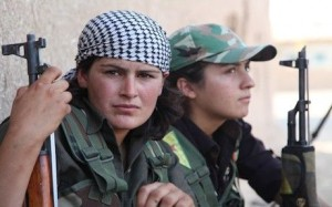 Kobani Women fighters