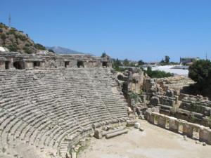stadium ruins