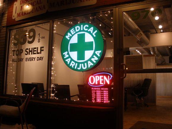 Medical marijuana storefront