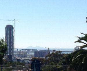 The Pinnacle from Inspiration Point in Balboa Park