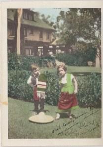 Neighborhood House child dancers at Marston House
