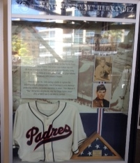 Nay Hernandez exhibit at Petco Park