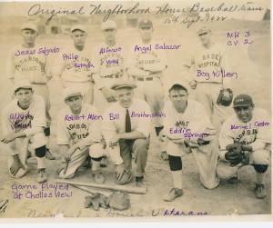 """Neighborhood House baseball team """"Veterans"""", 1922"""