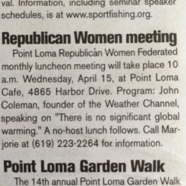 local GOP women