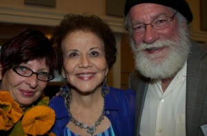 Maria Garcia, SDFP editors Anna Daniels and Rich Kacmar at 2015 SOHO event