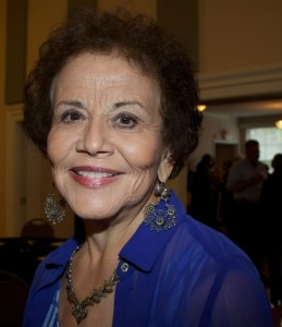Maria Garcia at 2015 SOHO event