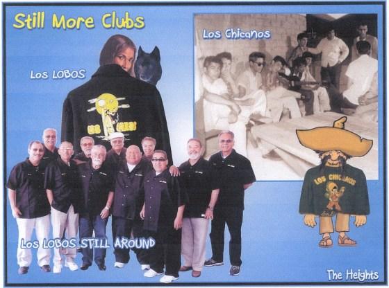 Los Lobos & Los Chicanos postcard montage