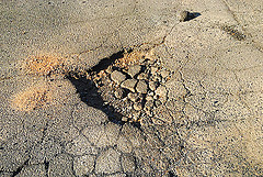 pot hole photo