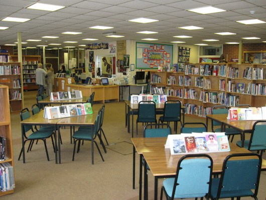 Ryeish Green School Library