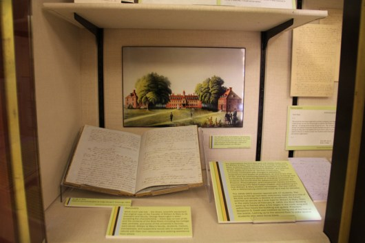 W&M Swem Library display