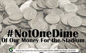 not one dime