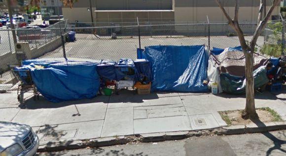 Street Camp on F Street