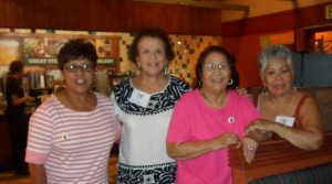 Photo of Eloisa Chavez Carillo, Maria Garcia, Helen Chavez, Gloria Serrano-Medina