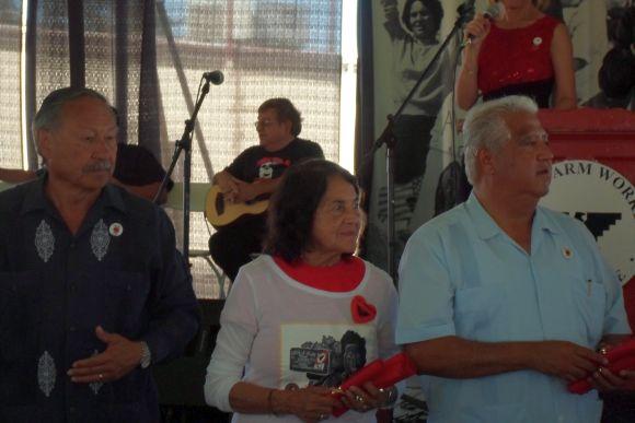 Arturo Rodriguez, Dolores Huerta, Paul Chavez