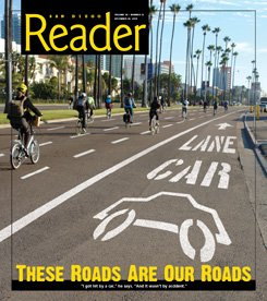 2010 San Diego Reader Cover Story on the San Diego Bicycle Scene. Image from the Reader