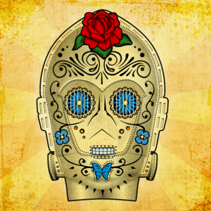 day of the dead robot