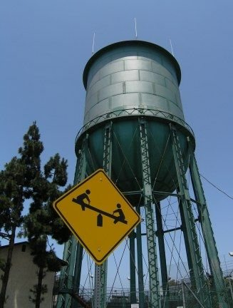 north park water tower
