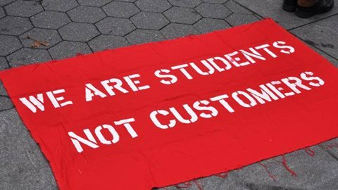 students not customers