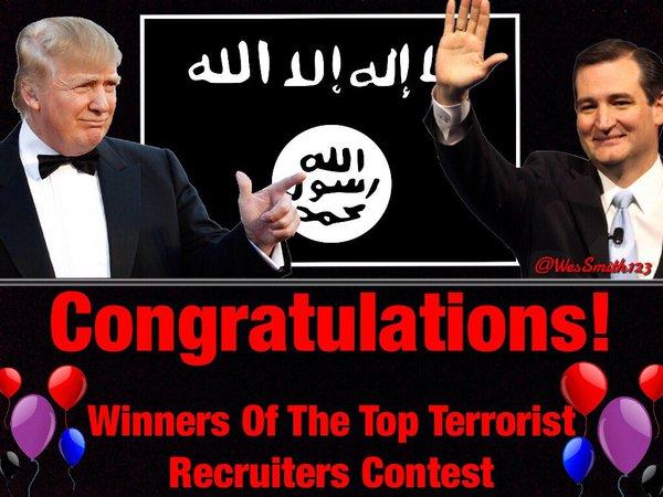Cruz Trump Isis