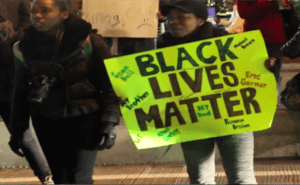 black lives matter via youtube