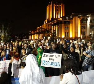 Rally for Refugees San Diego