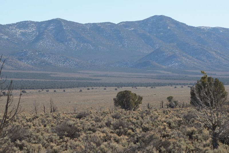 Wide view of Pinyon-Juniper clear-cuts