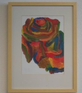 Alzheimer patient's artwork