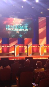 dem debate photo