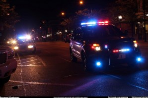 police lights photo