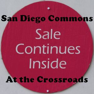 Logo for series San Diego Commons at the Crossroads