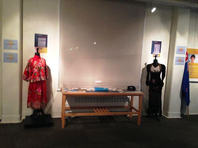 Exhibit in the Women's Museum of California