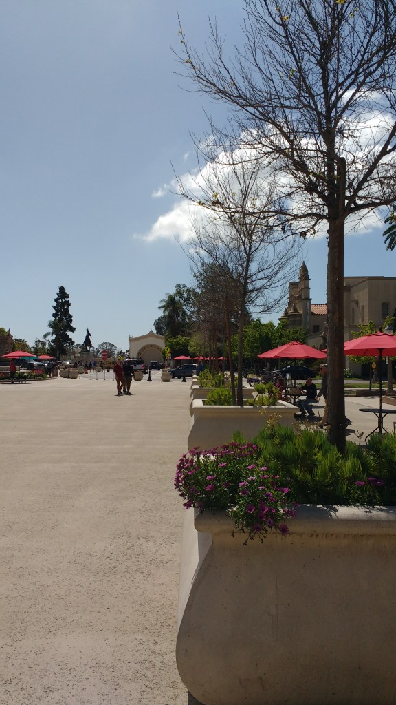 Plaza de Panama Trees and Tables