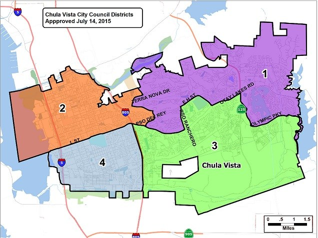 Chula Vista Districts