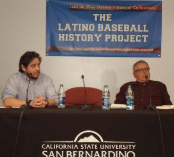 Smithsonian Panel l. Steve Velasquez, r. Edward Diaz