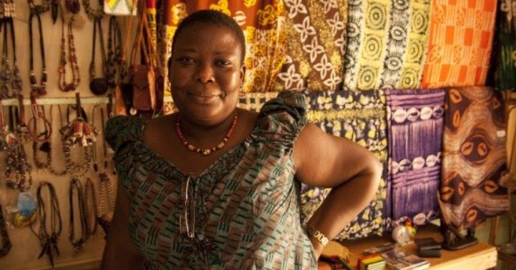 Successful business woman and activist for gender equality. (Photo: Asana Abugre.Christian Aid/Sarah Filbey)