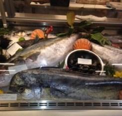 Liberty Market fish display