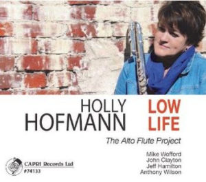 "Album cover for Holly Hofmann's ""Low Life"""