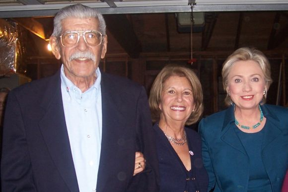 Max, Norma and Hillary Clinton
