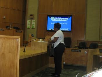 Speaker addressing the Rules Committee, 2016-06-15