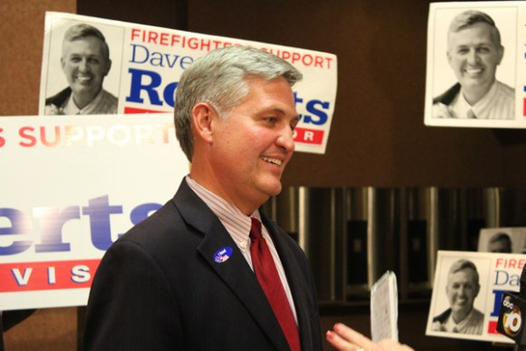 Incumbent Supe Dave roberts will face a fall run off. Photo by Barbara Zaragoza