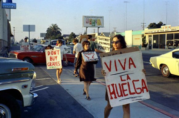 Safeway boycott, Linda LeGerrette, Irma Castro, Doreen Dixon Sladavic, San Diego, 1968