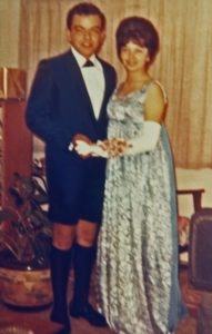 Carlos and Linda, Senior Prom, 1964