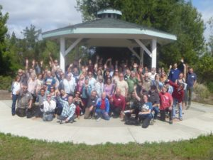 Group shot of participants at a May 2015 Climate Action Plan workshop, Vista, CA.
