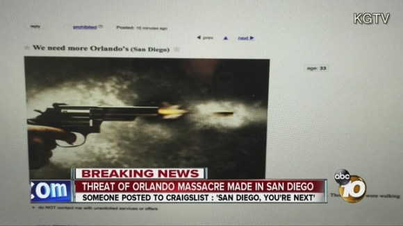 Orlando threat