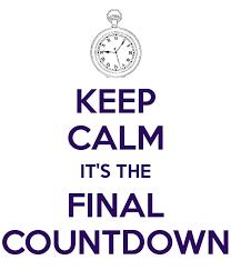 keep calm countdown