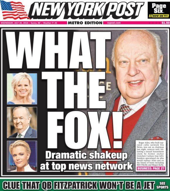 NY Post cover