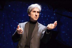 "Hershey Felder as Leonard Bernstein in 'Maestro"""