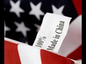 flag made in china
